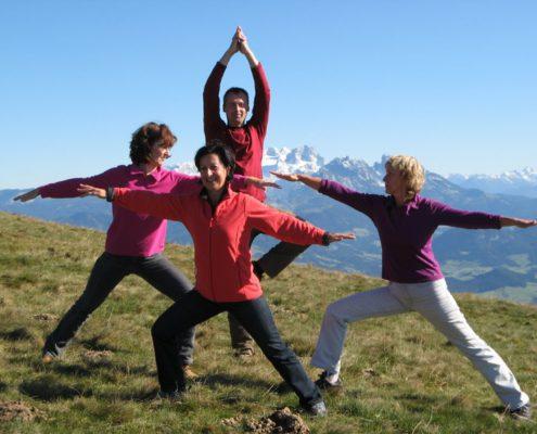 Freiluft Yoga