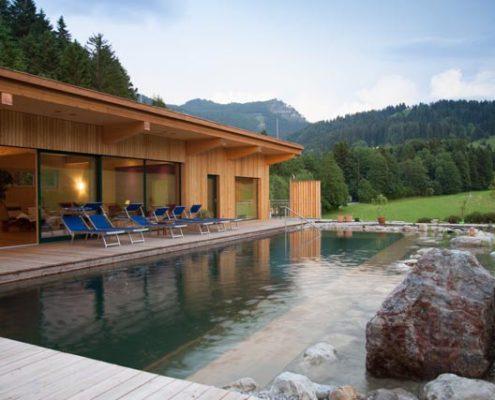 Naturbadeteich - Ausblick