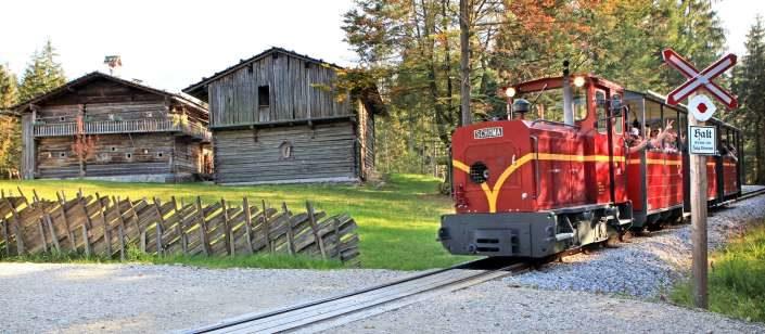 Bahn im Freilichtmuseum