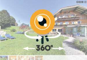 360° Panorama-Tour durchs Hotel
